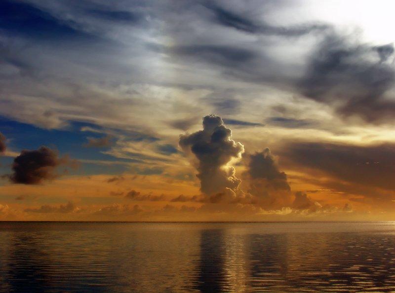 Saipan Sunset Afterglow