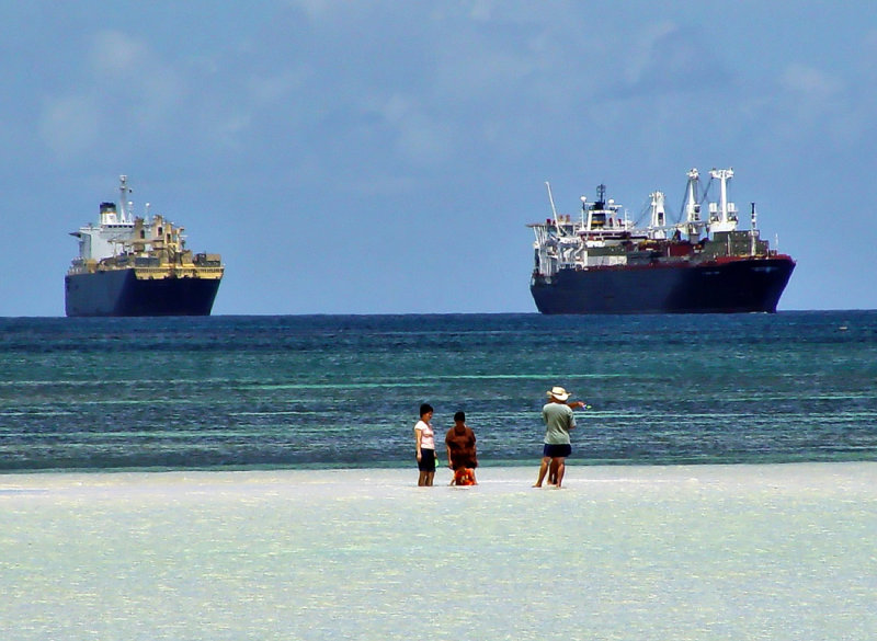 Tourists and Pre-Position Ships