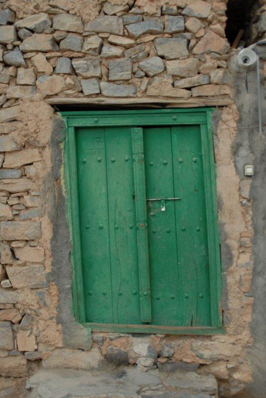 Green Door at Al Hamra