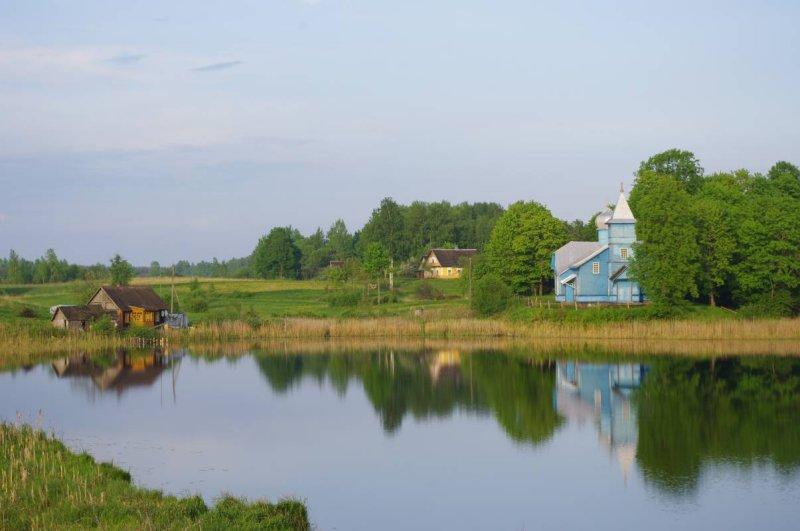 Folvarka, old Believers village near Aglona