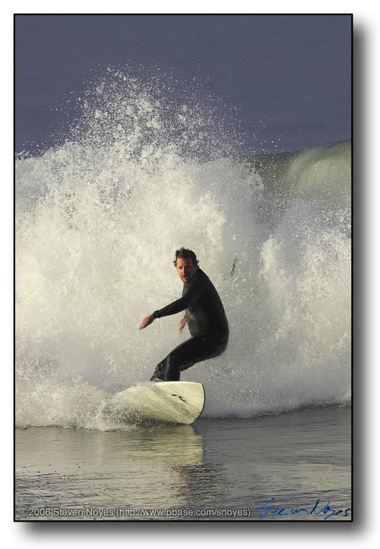 Huntington Beach : Surf : Run Away