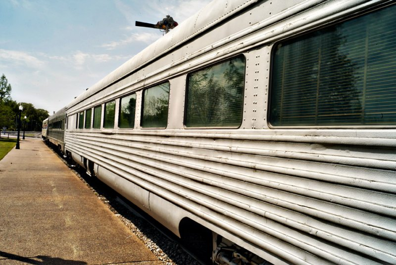 Old Train, Collierville Station