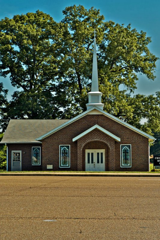 Church Beside the Highway