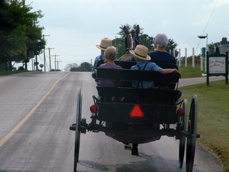Saturday Ride into town