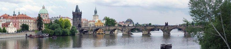 Vltava and Charles Bridge