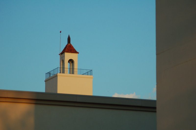 Hardy Tower at Sunset