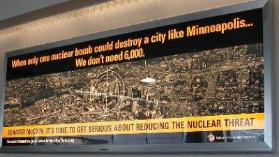 2008 - Controversial advertisement at Minneapolis-St. Paul International Airport