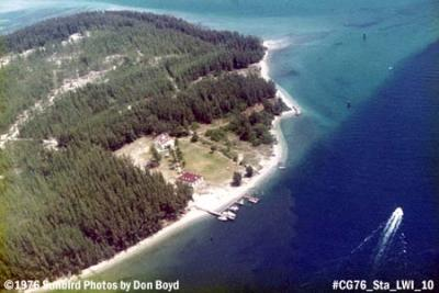1976 - Coast Guard Station Lake Worth Inlet on Peanut Island