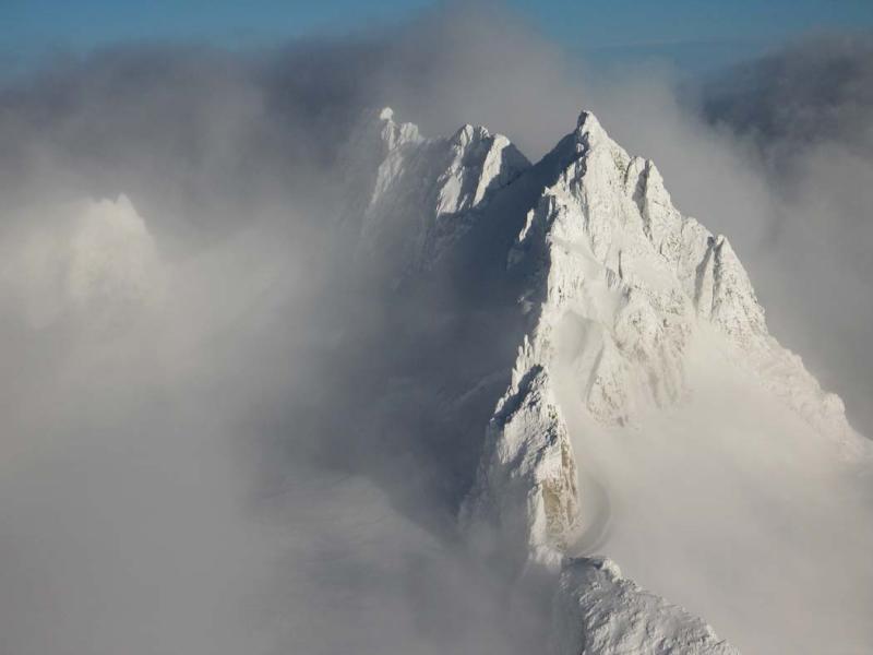 Dome Peak, View NE (Dome011706-03adj.jpg)