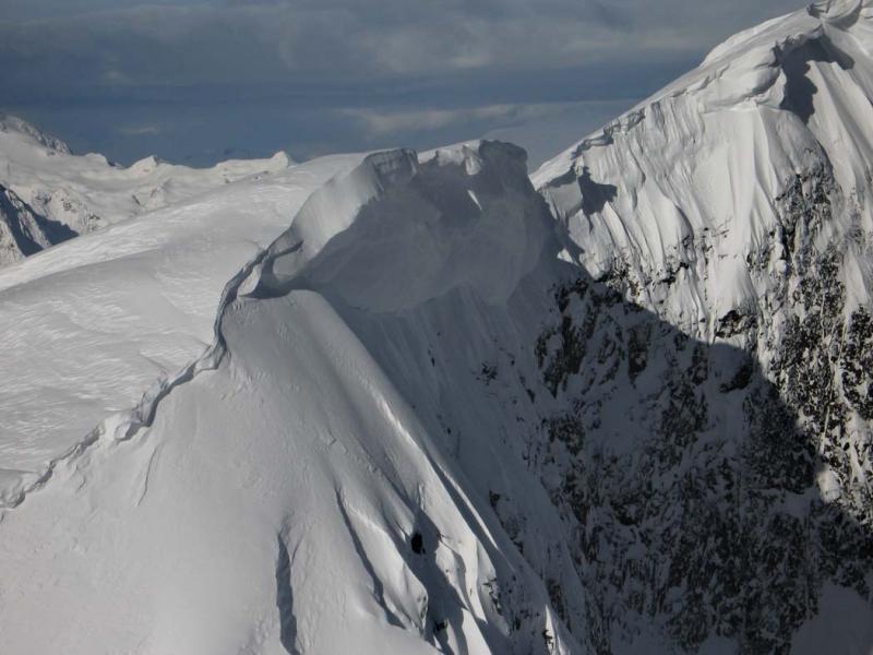 Davis, Cornice On Summit Ridge (Davis030106-49adj.jpg)
