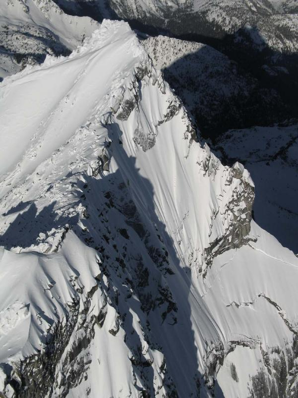 Stuart, Upper NE Face & N Ridge<br> (StuartEnchantments020906-048adj.jpg)