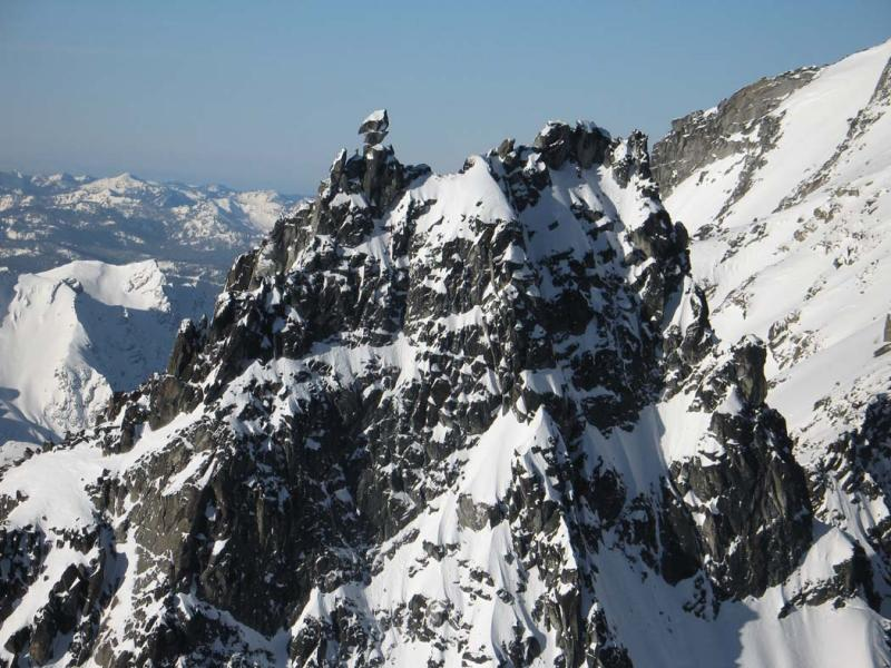 Sherpa, Upper NE & N Faces, Detail<br> (StuartEnchantments020906-088adj.jpg)