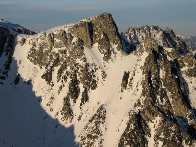 Little Annapurna & Pennant Pk, View NE <br>(StuartEnchantments021506-289adj.jpg)