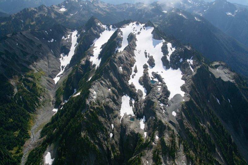 Mt. Delabarre & Delabarre Glaciers, View S <br> (ONP092607-_299.jpg)