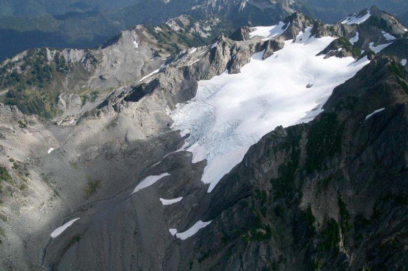 Mt Christie & Christie Glacier, View SE <br> (ONP092607-_353.jpg)
