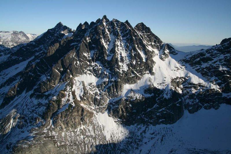 Tenpeak Mt, W Face <br> (TenPeak102307-_05adj.jpg)