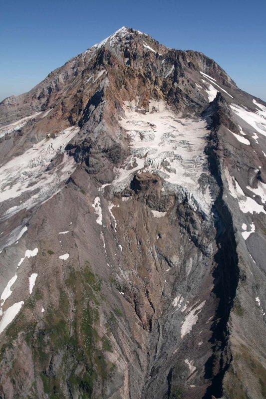 Hood: Reid Glacier <br> (Hood082407-_428.jpg)