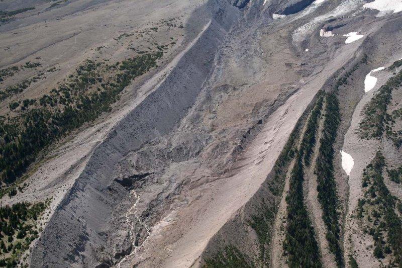 Hood:   Eliot Glacier Terminus<br> (Hood082807-_049.jpg)