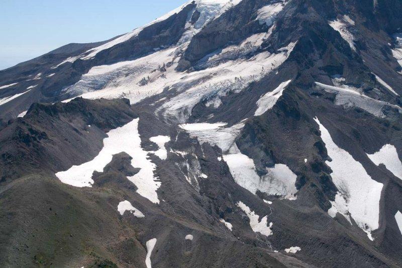 Hood:   Ladd Glacier <br> (Hood082807-_116.jpg)