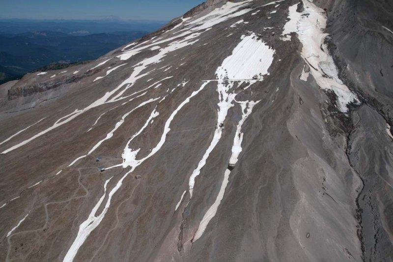 Hood: Palmer & White River Glaciers <br> (Hood082807-_266.jpg)