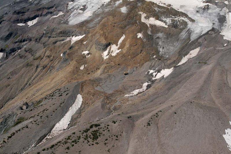 Hood: Newton Clark Glacier Terminus<br> (Hood082807-_342.jpg)