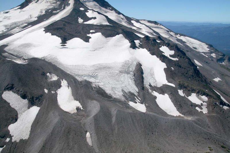 Jefferson, Whitewater Glacier N Segment, View SW <br> (Jefferson082807-_129.jpg)