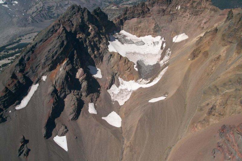 Broken Top: Crook Glacier, View W <br> (BrokenTop082807-_055.jpg)