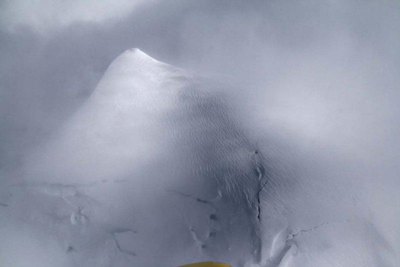 Summit Plateau In Storm <br> (MtBaker043008-_10.jpg)