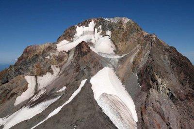 Hood, Upper White River Glacier, Crater Rock, & Summit <br> (Hood082407-_070.jpg)