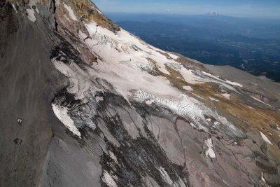 Hood, Newton Clark Glacier, View N<br> (Hood082407-_184.jpg)