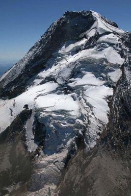 Hood, Upper Eliot Glacier & Coe Glacier Icefall <br> (Hood082407-_214.jpg)