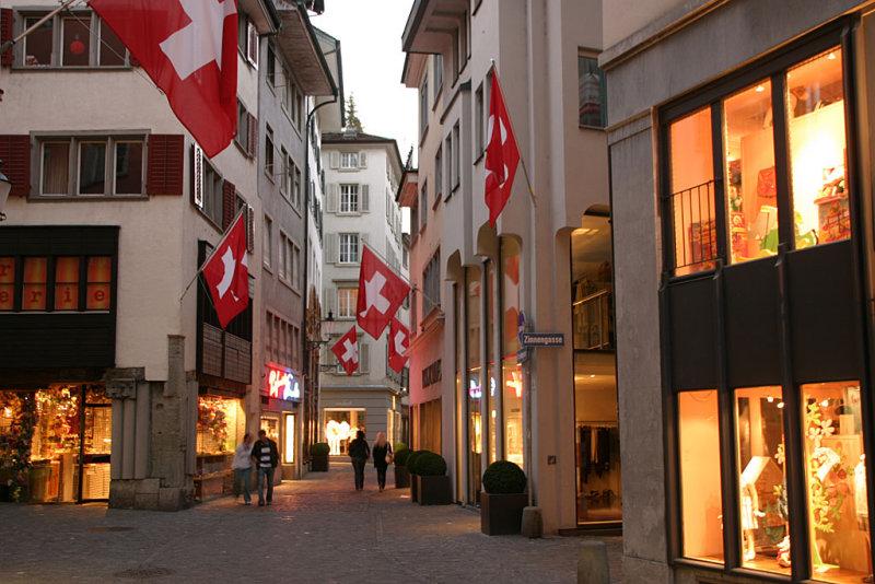 A classic Swiss moment