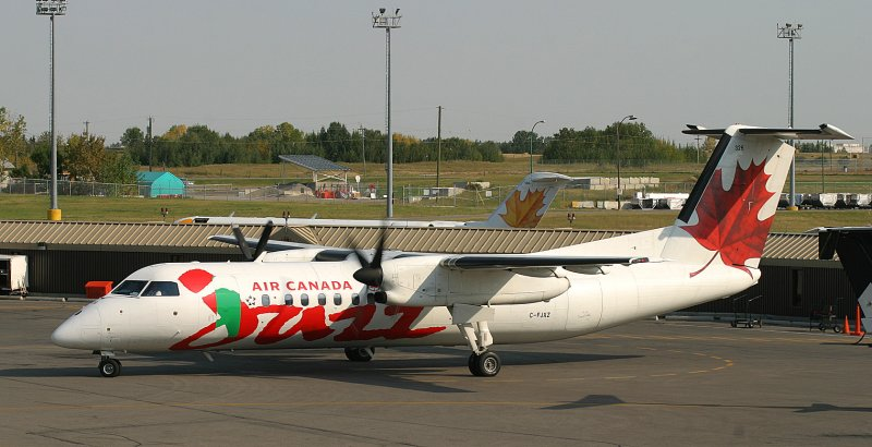 Jazz Dash-8, when the paint job finishes, will it be green or red?