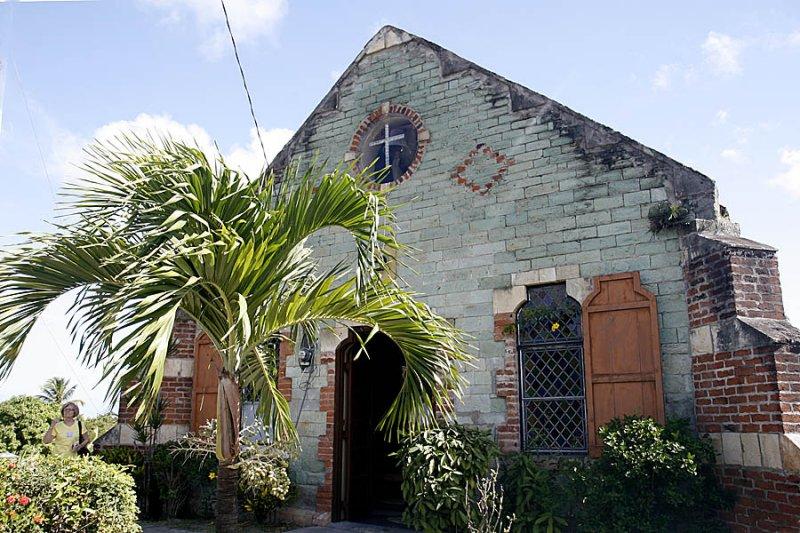 St.. Barnabas church, Liberta, Antigua (250 yrs old)