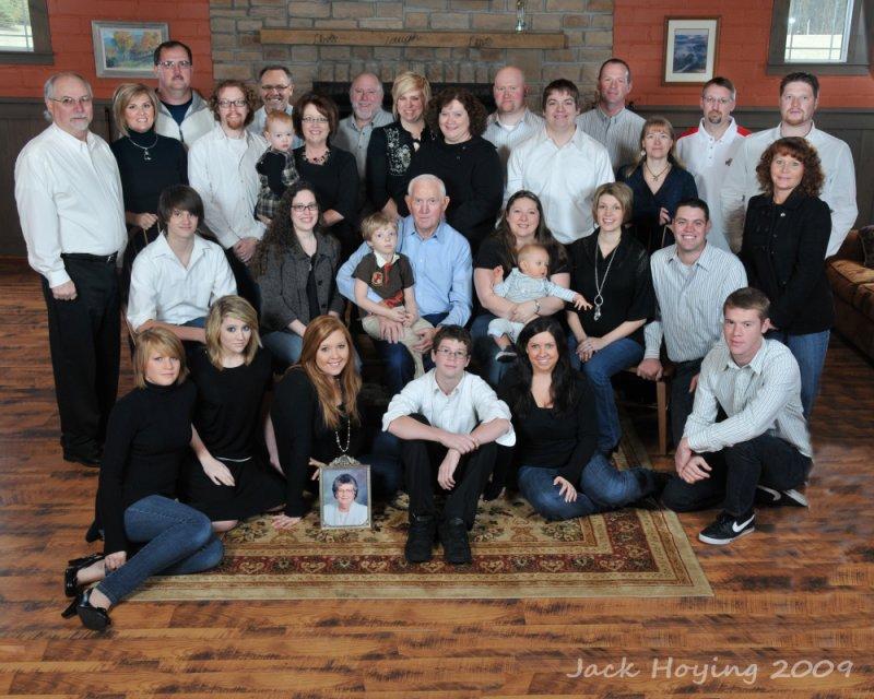 Vondenhuevel Family Photo