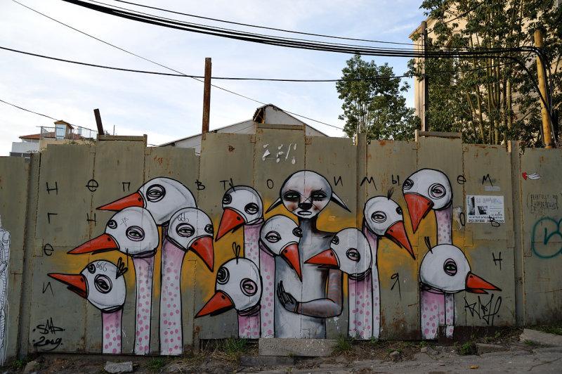 Tel Aviv - graffiti