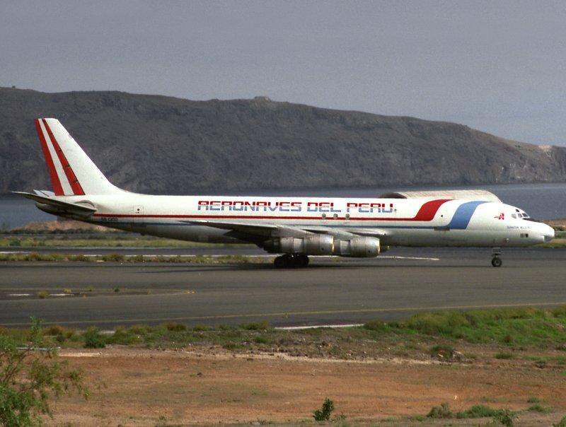 DC8-54F  OB-1300