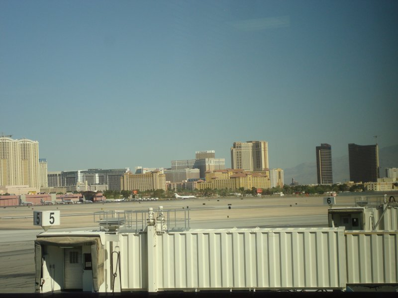 The Strip from McCarran Airport