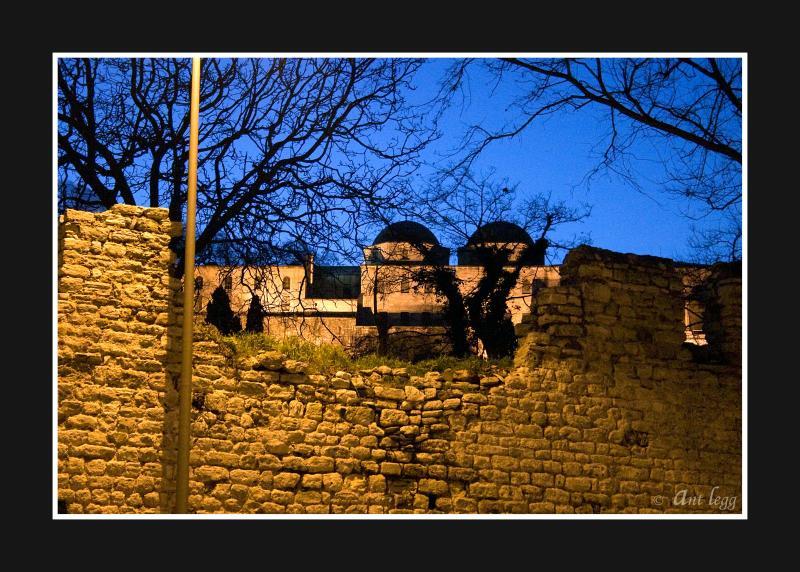 Topkapi Palace through the wall