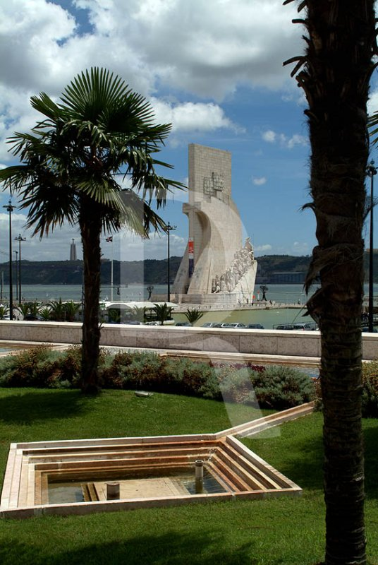 The Discoveries Monument seen from Belem Cultural Centre