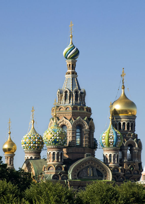 St. Petersburg Onion Dome Church