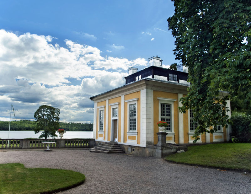 At Steinige Palace Cultural Centre,  Sweden