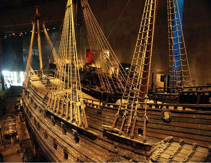 Ill-fated Swedish warship, The  Wasa
