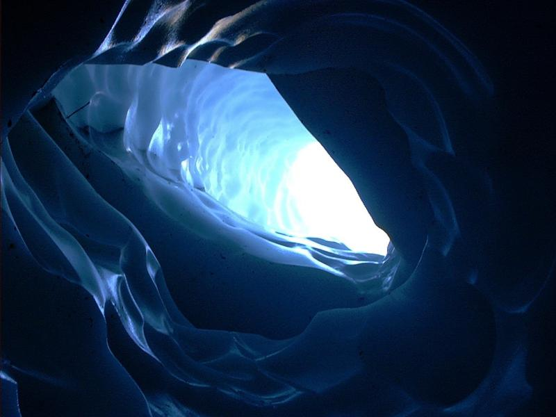 Glacier Ceiling Tunnel