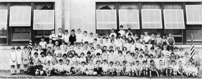 1920s - school photo at Santa Clara School in Miami