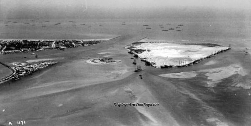 1920 - County Causeway, Terminal Island, Miami Beach and Fisher Island (comments below)