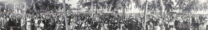 1921 - William Jennings Bryans Presbyterian Tourist Bible Class in Miami