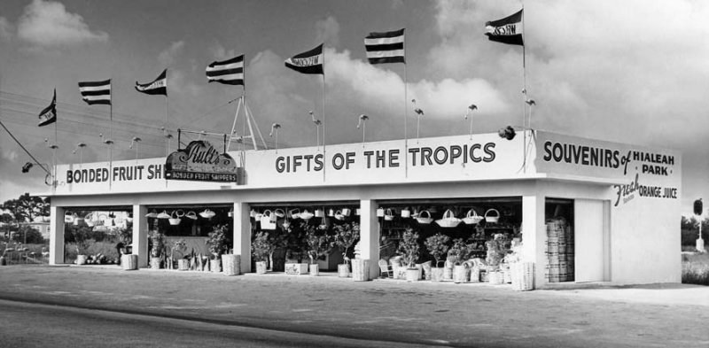 1950s - Pete and Jean Adlemans gift shop on East 21st Street
