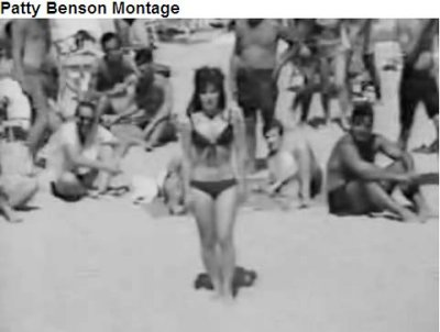 Mid to late 1960s - the Rick Shaw Shows Pat Benson lip syncing a medley of songs