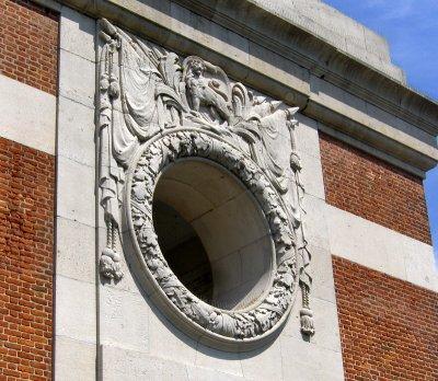 PORTHOLE WINDOW ON MENIN GATE